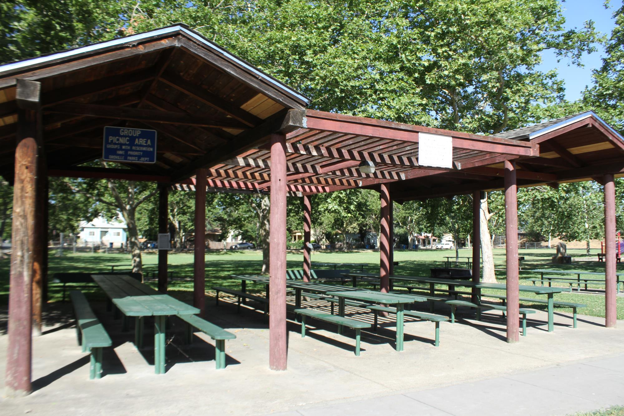 Rotary Park group picnic area