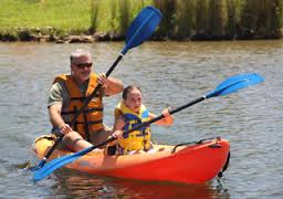 Kayak dad.kid