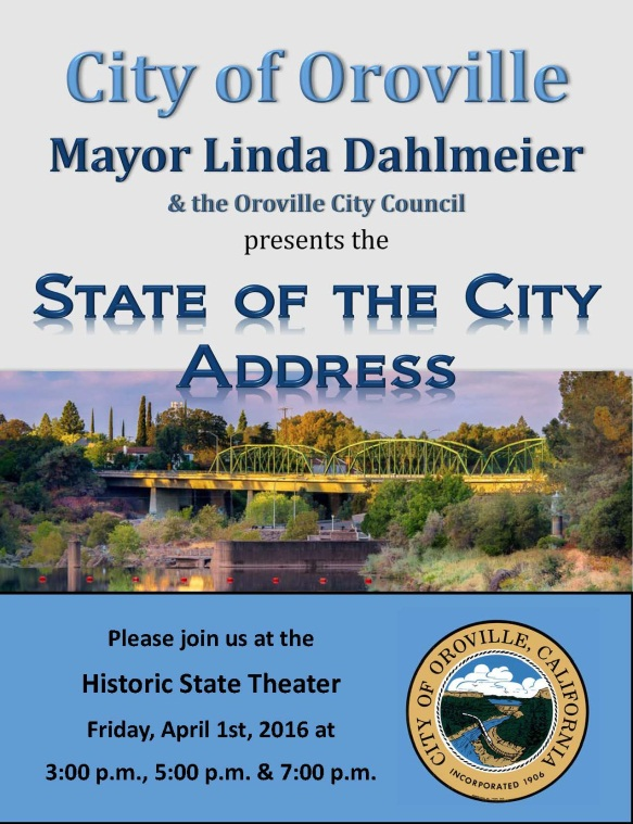 State of the City Address | News List | City of Oroville, CA