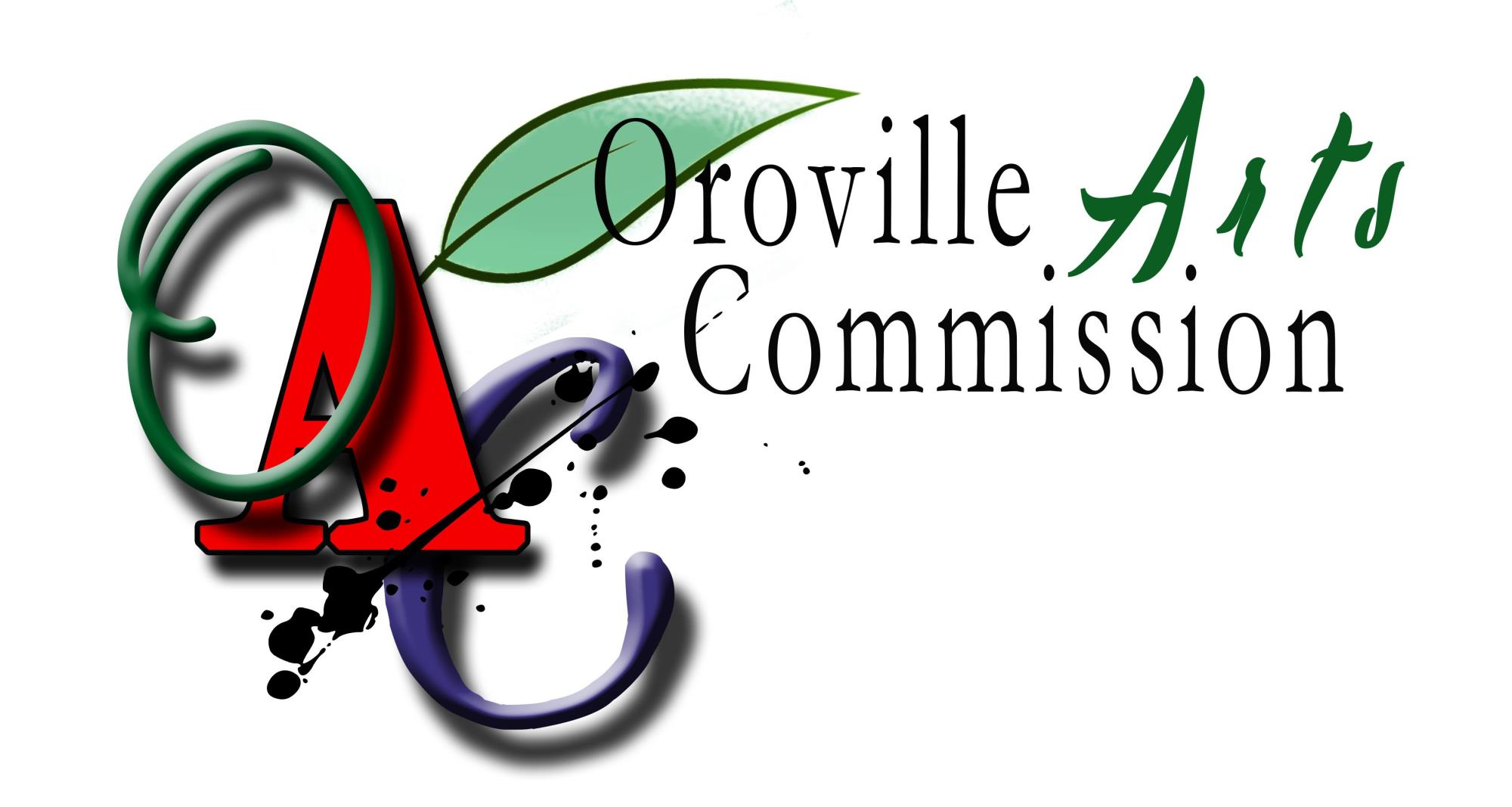Oroville Arts commission logo