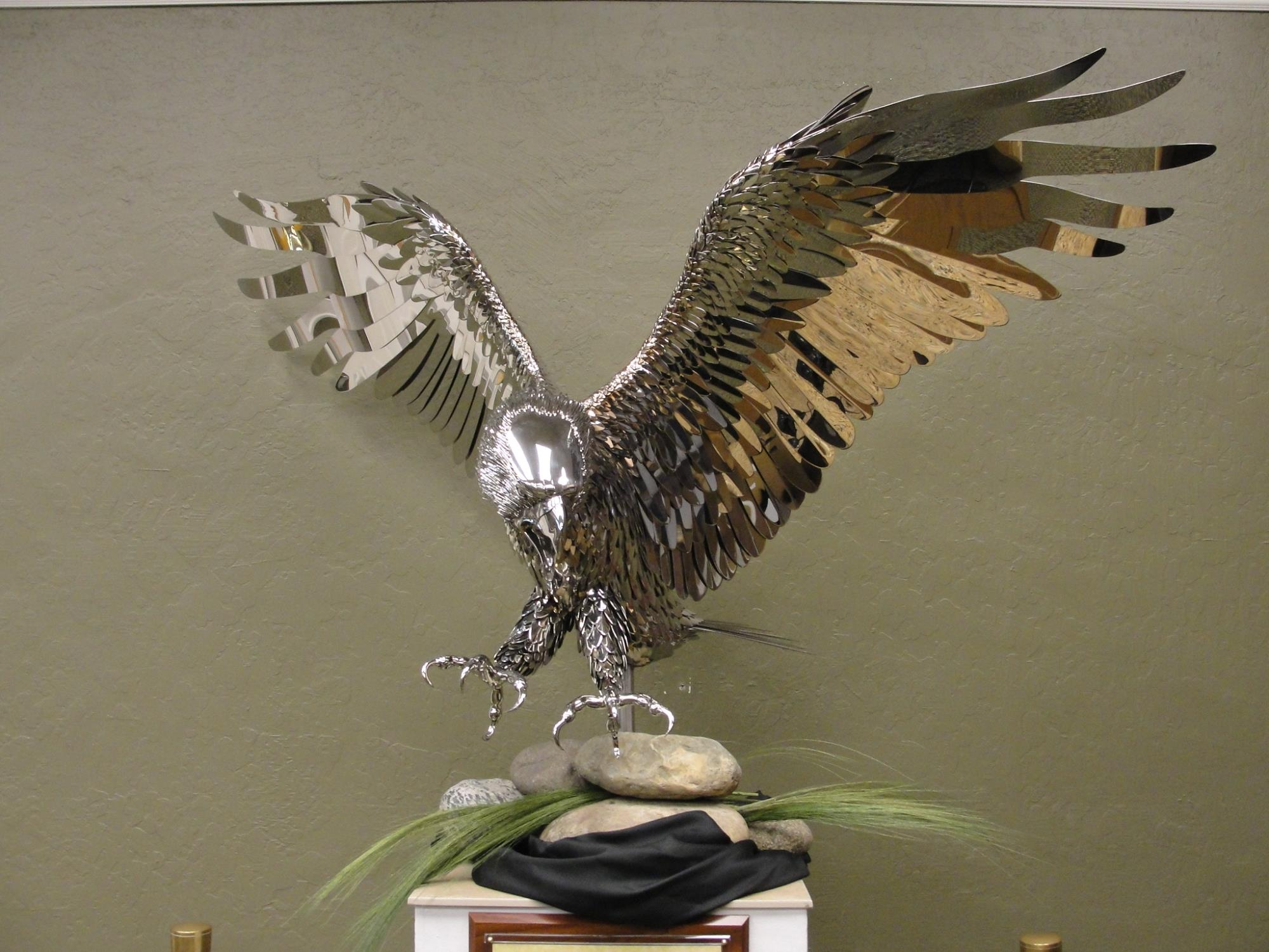 Stainless Steel Eagle