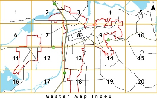 Engineering Master Map Index